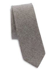 Original Penguin Textured Cotton Tie Brown