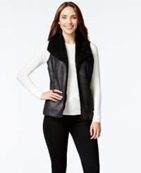 Style And Co. Faux Sherpa Vest Only At Macy's