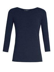 Max Mara Multi C T Shirt Navy
