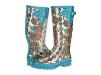 The Sak Rhythm Natural Spirit Desert Women's Rain Boots White