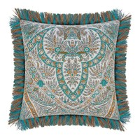 Etro Colombara Tassel Edged Cushion 45X45cm Teal