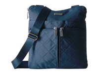 Baggallini Quilted Horizon Crossbody With Rfid Wristlet Slate Quilt Cross Body Handbags Blue