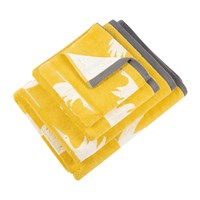 Scion Colin Crane Towel Chalky Brights Yellow
