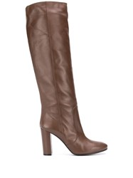 Via Roma 15 Knee Length Round Toe Boots 60