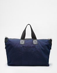 New Look Canvas Holdall Navy