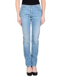 Givenchy Denim Denim Trousers Women Blue