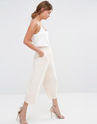 New Look Culotte Pants Stone