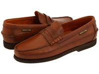 Mephisto Cap Vert Rust Smooth Leather Slip On Shoes Brown