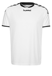 Hummel Stay Authentic Poly Sports Shirt White