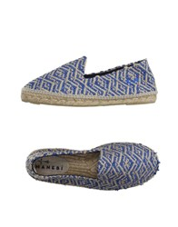Manebi Footwear Espadrilles Men Pastel Blue