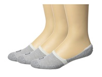 Sperry Solid 1 2 Cushion Mid Vamp Liner 3 Pair Pack White Men's Crew Cut Socks Shoes