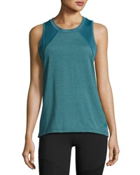 The North Face Reactor Mesh Panel Tank Top Turquoise