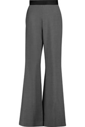 Opening Ceremony Focal Stretch Knit Wide Leg Pants Gray