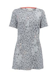White Stuff Hearts And Stars Jersey Tunic Grey