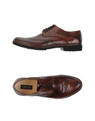 Pakerson Lace Up Shoes Brown