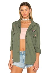 Sanctuary Flower Field Jacket Army