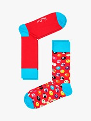 Happy Socks Pool One Size Pack Of 2 Red Multi