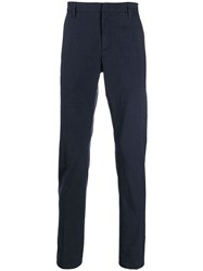 Dondup Slim Tailored Trousers Blue