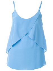 Lala Berlin 'Rio' Top Blue