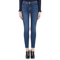 L'agence Women's High Rise Skinny Jeans Navy