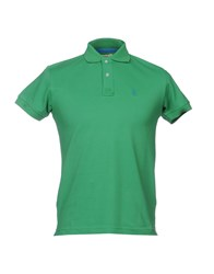 Refrigue Topwear Polo Shirts Green