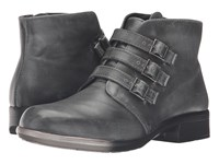 Naot Footwear Calima Vintage Smoke Leather Women's Boots Black
