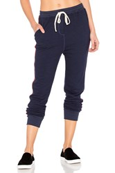 Sundry Tape Slash Pocket Pant Navy