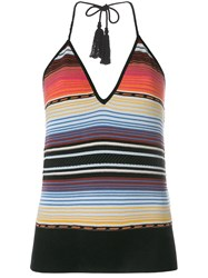 Laneus Mexico Dress Multicolour