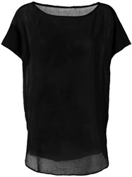 Lost And Found Rooms Long T Shirt Black