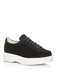 Robert Clergerie Pasket Platform Lace Up Sneakers Black