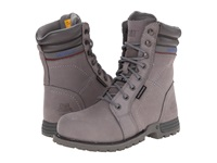 Caterpillar Echo Waterproof Steel Toe Frost Grey Women's Work Boots Gray