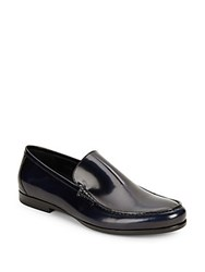 Harry's Of London Alec Gloss Calf Loafers Navy