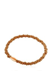Luis Morais Yellow Gold Striped Bracelet