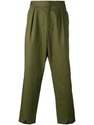 J.W.Anderson Tailored Loose Fit Trousers Green