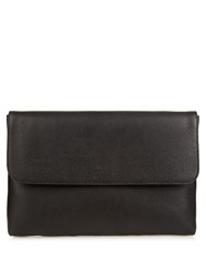 Gucci Dollar Grained Leather Document Holder Black