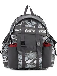 Eastpak Mountaineering Nylon Backpack Grey Camo