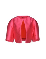 Space Style Concept Suits And Jackets Blazers Women Fuchsia