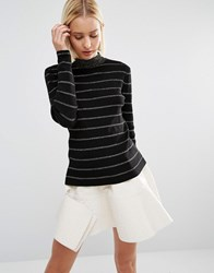 Weekday Knitted Jumper Co Ord Gold