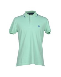 Husky Polo Shirts Green