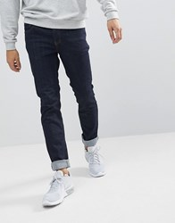 Wesc Alessandro Slim Fit Jeans In Rinse Denim Blue