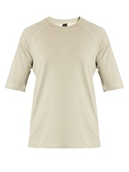 Adidas Day One No Stain Jersey T Shirt Beige