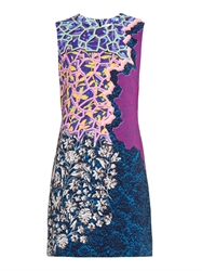 Peter Pilotto Stamp Contrast Print Shift Dress