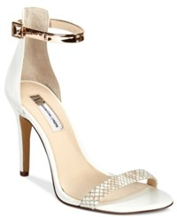 Inc International Concepts Women's Roriee Two Piece Sandals Only At Macy's Women's Shoes Bright White