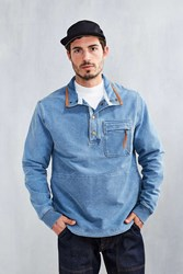 Without Walls Denim Terry Sweatshirt Indigo