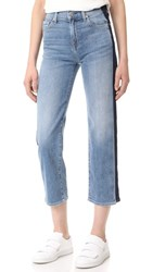 7 For All Mankind Kiki With Shadow Side Seams Gold Coast Waves