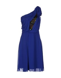 Bgn Knee Length Dresses Blue