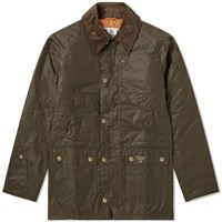 Barbour Lingmell Wax Jacket Green