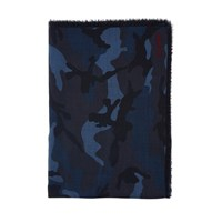 Valentino Camospace Scarf Untitled Color