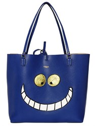 Essentiel Cheshire Cat Faux Leather Tote Bag