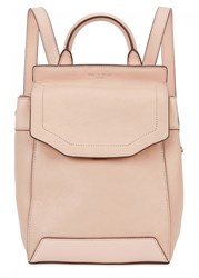 Rag And Bone Pilot Small Grained Leather Backpack Pink